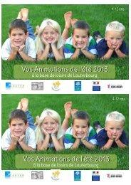 Animations Base de loisirs de Lauterbourg 4-12 ans - fdmjc 67