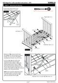 Napa 4 in1 Crib Assembly Instruction - Hayneedle - Page 5