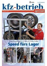 Speed fürs Lager - Scholz Regalsysteme GmbH