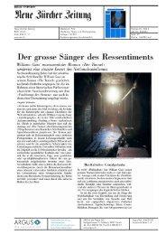 Der grosse anger des Ressentiments - Rowohlt Theaterverlag