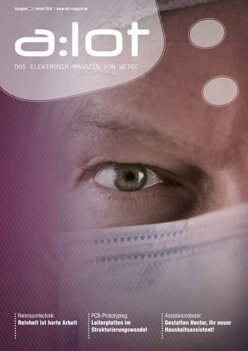 a:lot 08 Herbst 2013 - a:lot - Das Elektronik-Magazin von Wetec
