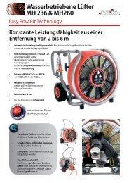 Hochleistungslüfter MH236 und MH260 - Leader GmbH