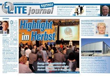 express - ELITEjournal - Das Magazin für Energy Life Servicepartner