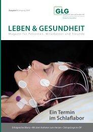 Leben & Gesundheit - GLG mbH - Gesellschaft für Leben und ...