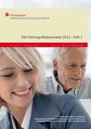 OSV-Demografiebarometer 2012 - Heft 1 - Der Energieblog