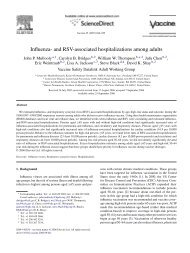 Influenza- and RSV-associated hospitalizations among adults
