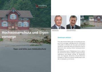 Hochwasserschutz und Eigenvorsorge - Vorarlberg