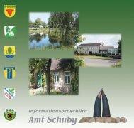 das amt schuby und seine gemeinden - Kreis Schleswig-Flensburg