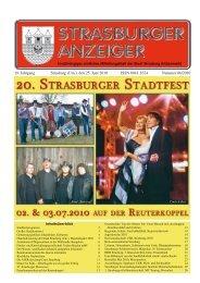 19. Jahrgang Strasburg (Um.), den 25. Juni 2010 ... - Schibri-Verlag