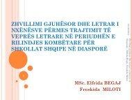 zhvillimi gjuhësor dhe letrar i nxënësve përmes trajtimit të veprës ...