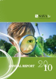 ANNUAL REPORT - Sava Re
