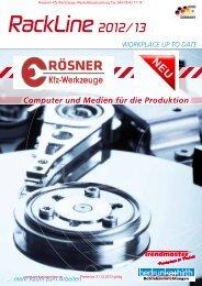 Werkstatt Computerwagen Computerschrank fahrbar Aktion 2012 ...
