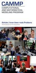 Broschüre für Partner - CAMMP - RWTH Aachen University