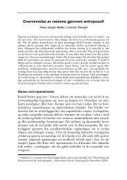 Overvinnelse av rasisme gjennom antroposofi - Antroposofisk ...