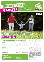 Gemeindemagazin - Die Grünen