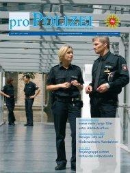 proPOLIZEI Mai/Juni 2008 - Niedersächsisches Ministerium für ...