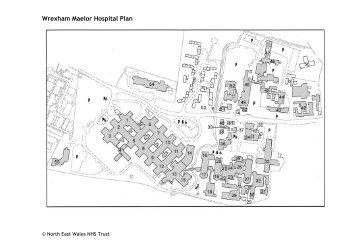 Wrexham Maelor Hospital Plan