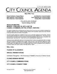 Agenda - City Of Ventura