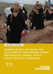 gender-based violence and child protection among syrian refugees ...
