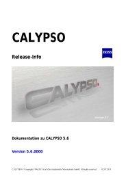 calypso 5.6 - bei Carl Zeiss in Deutschland