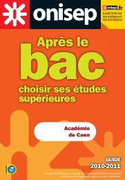 Académie de Caen GUIDE - Informetiers