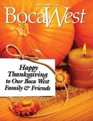 Happy Thanksgiving - Boca West Country Club