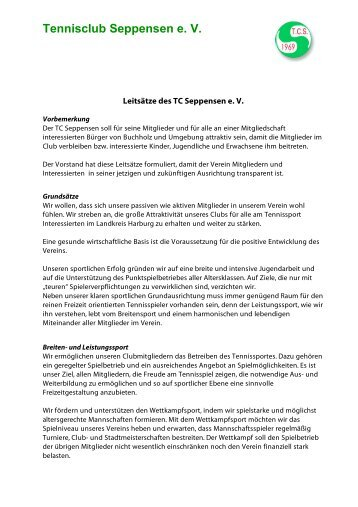 Tennisclub Seppensen e. V. - TC Seppensen