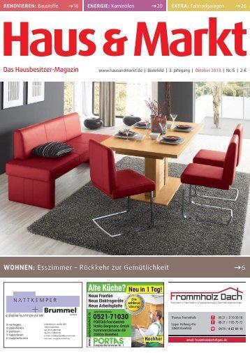 Bielefeld Ausgabe Oktober 2013 - Haus & Markt