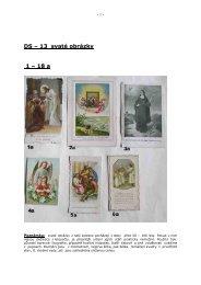 DS - 13 Svaté obrázky