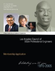 Joining - Los Angeles Council of Black Professional Engineers
