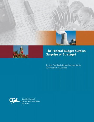 The Federal Budget Surplus: Surprise or Strategy? - Certified ...