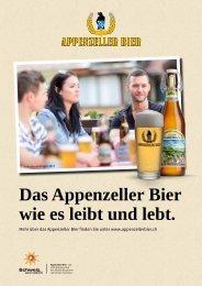 Verkaufshandbuch Appenzeller Bier 2013 (DE) - Brauerei Locher AG