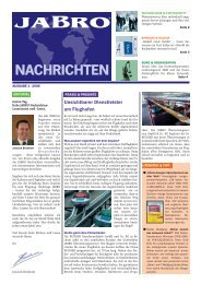 Nachrichten Nr._1-2008 (14.01.08).indd - JABRO GmbH & Co. KG
