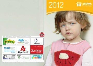Jahresbericht Vorarlberger Kinderdorf 2012 (2.8 MB)