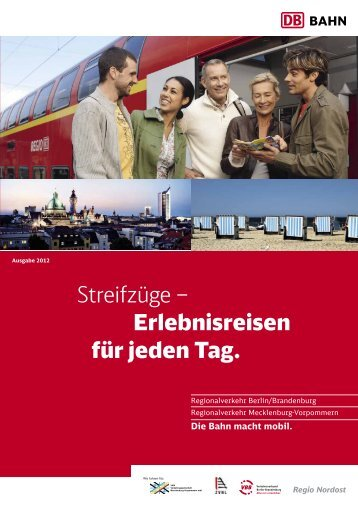 Streifzüge – Erlebnisreisen für jeden Tag. - S-Bahn Berlin GmbH