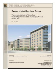 Project Notification Form - Boston Redevelopment Authority