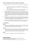 Revised note on the UK notification process for market makers and ... - Page 7