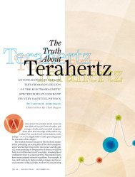 The Truth About Terahertz