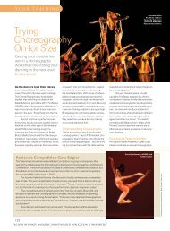 Your Training - Central Pennsylvania Youth Ballet