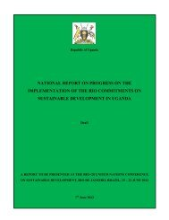 National Report - Uganda - United Nations Sustainable Development