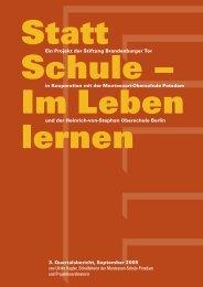 Statt Schule – Im Leben lernen - Heinrich-von-Stephan ...