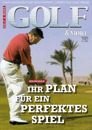 Ihr Plan für eIn - Golfhaus.de