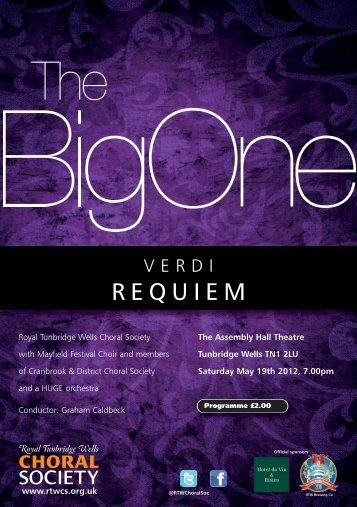 REQUIEM - Royal Tunbridge Wells Choral Society