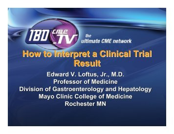 How to Interpret a Clinical Trial Result - Gastrointestinal Health ...