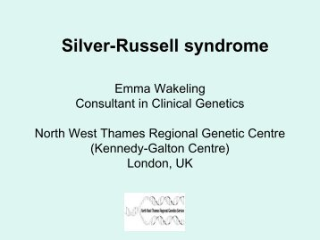 Silver-Russell syndrome - Istituti