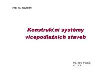 Konstrukční systémy vícepodlažních staveb - SKOLENI-KURZY.EU