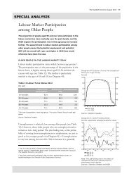 Labour Market Participation among Older People