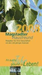 Kunden-Magazin & Kalender Schoenenberger ... - WORTGEWAND