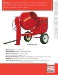 Whiteman Towable Mixer Brochure - Multiquip Inc. - Page 5