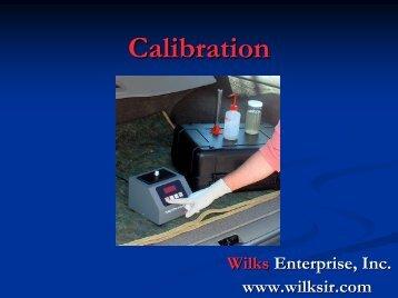 CAL - Wilks Enterprise, Inc.